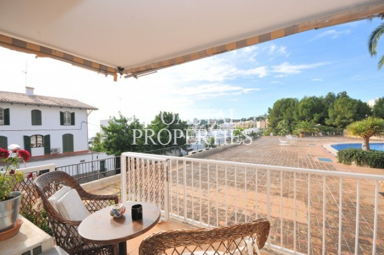 Property for Sale in San Agustin, Apartment With Swimming Pool For Sale In San Agustin, Mallorca, Spain