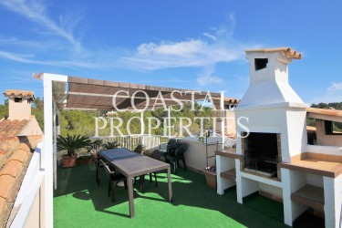 Property for Sale in Santa Ponsa, Penthouse Apartment With Three Bedrooms For Sale Santa Ponsa, Mallorca, Spain