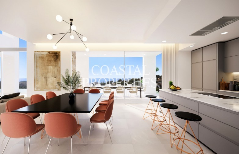 Property for Sale in Costa D'en Blanes, Contemporary Sea View Luxury South Facing Villa For Sale In Costa D'en Blanes, Mallorca, Spain