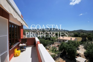 Property for Sale in Calvia Village, Top Floor 3 Bedroom Apartment For Sale Calvia Village, Mallorca, Spain