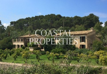 Property for Sale in Calvia, Unique Country Estate With Two Separate Houses For Sale In     Calvia Village, Mallorca, Spain