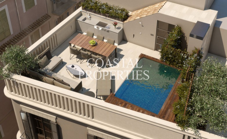 Property for Sale in Palma Old Town, Elegant And Sophisticated Corner House For Sale In Palma Old Town, Mallorca, Spain