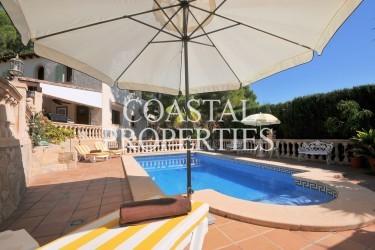 Property for Sale in Costa De La Calma, South Facing Villa With Swimming Pool For Sale Costa De La Calma, Mallorca, Spain