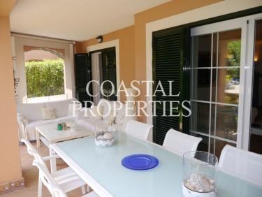 Property for Sale in Santa Ponsa, Two Bedroom Garden Apartment For Sale In   Santa Ponsa, Mallorca, Spain