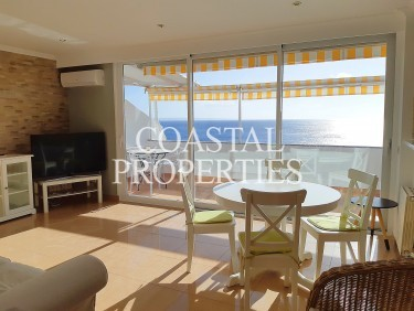 Property for Sale in Torrenova, Sea View Three Bedroom Duplex Apartment For Sale With Direct Sea Access & Swimming Pool   Torrenova, Mallorca, Spain