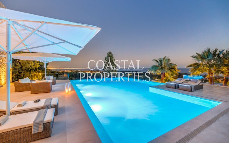 Property for Sale in Ultra Modern 7 Bedroom Luxury Sea View Villa For Sale On Anchorage Hill Bendinat, Mallorca, Spain