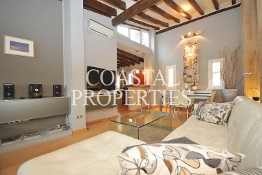 Property to Rent in Palma Old Town, Unique Duplex Apartment With Large Roof Terrace For Sale Palma Old Town, Mallorca, Spain