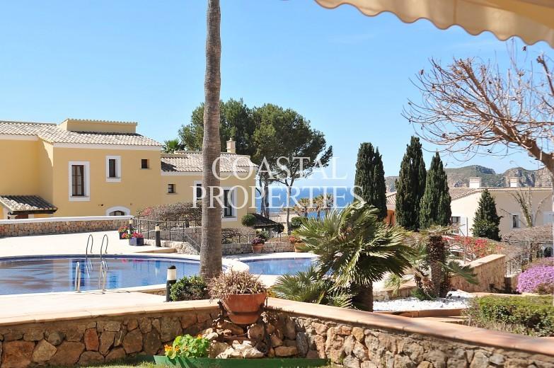 Property for Sale in Mar Del Sur. Amazing Garden Apartment With Sea Views To The Malgrats  Santa Ponsa, Mallorca, Spain