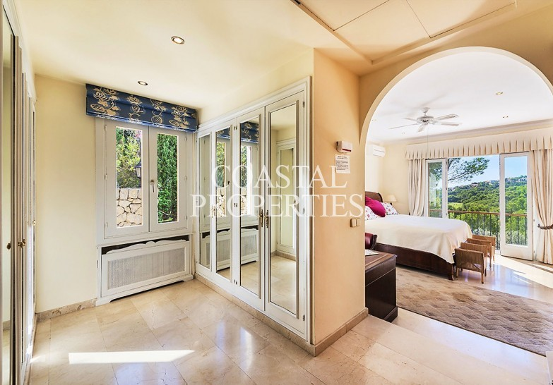 Property for Sale in Classic Mediterranean Villa For Sale First Line Golf  Bendinat, Mallorca, Spain