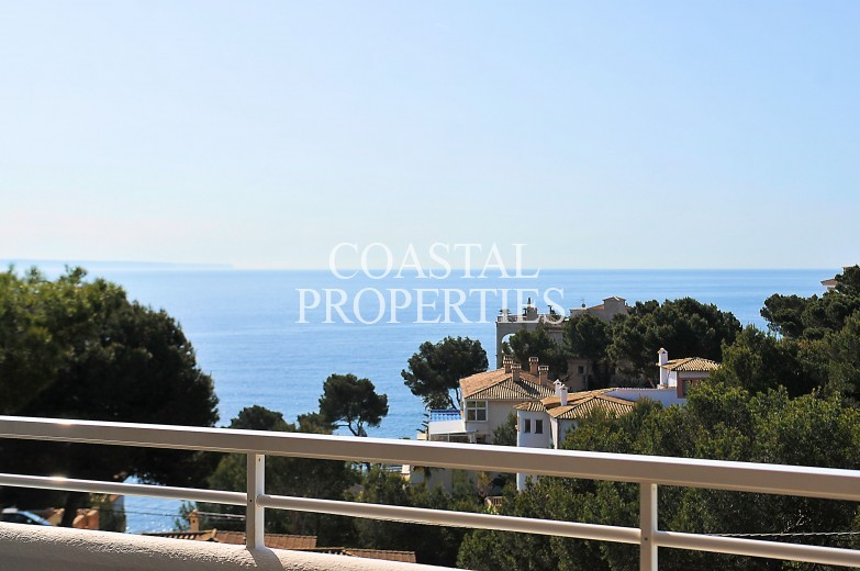 Property for Sale in 2 Bedroom Sea View Apartment With Large Terrace For Sale Cala Vinyes, Mallorca, Spain