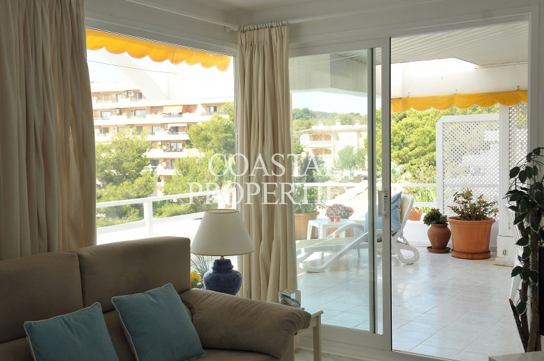 Property for Sale in Cala Vinyes, Two Bedroom Sea View Penthouse Apartment For Sale  Cala Vinyes, Mallorca, Spain