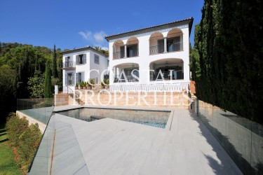 Property for Sale in Anchorage Hill, Magnificent 8 bedroom luxury sea view house for sale Bendinat, Mallorca, Spain