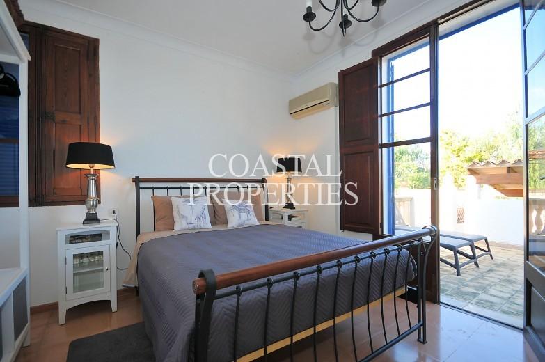 Property for Sale in Llubi, Charming country house boasting panoramic views towards the Tramuntana mountain range. Llubi, Mallorca, Spain