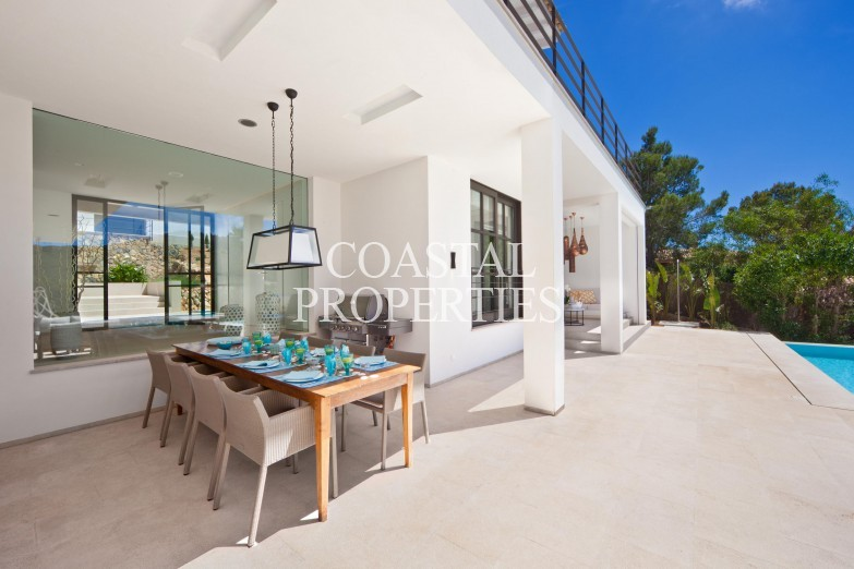Property for Sale in Puerto Andratx, Luxury modern villa for sale in the upmarket area of Montport Puerto Andratx, Mallorca, Spain