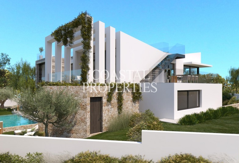 Property for Sale in Cala Vinyes, New state of the art 5 bedroom villa project with sea view for sale Cala Vinyes, Mallorca, Spain