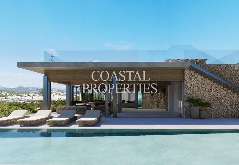 Property for Sale in Santa Ponsa, Unique project for sale with sea views to the Malgrats Santa Ponsa, Mallorca, Spain