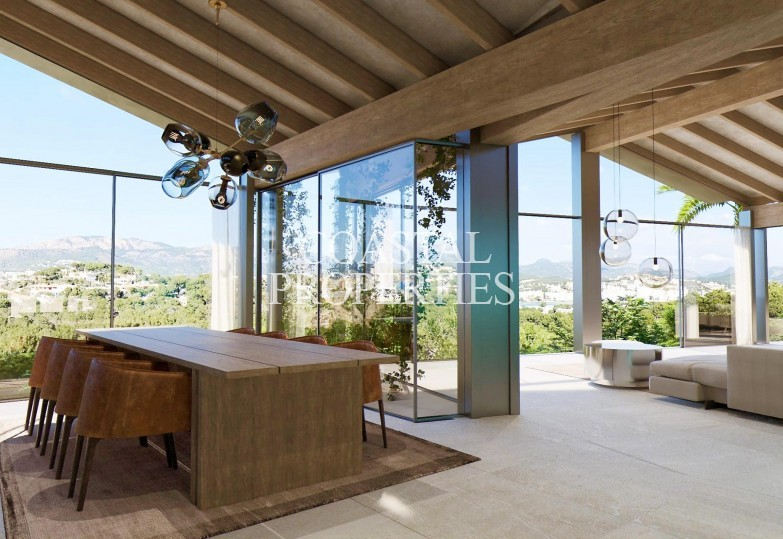 Property for Sale in Santa Ponsa, Unique project for sale with sea views to the Malgrats Santa Ponsa, Mallorca, Spain