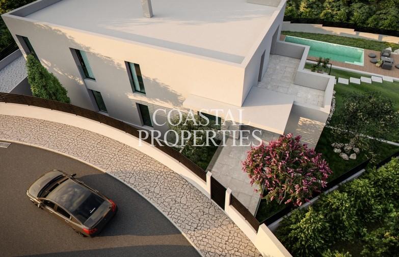 Property for Sale in Cala Vinyes, Modern 4 bedroom villa project for sale Cala Vinyes, Mallorca, Spain