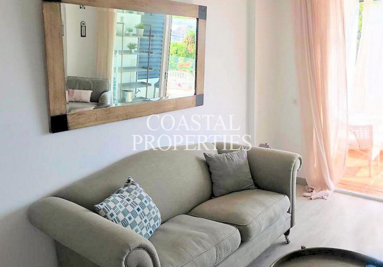 Property for Sale in Puerto Portals, Refurbished 1 bedroom sea view apartment for sale  Puerto Portals, Mallorca, Spain