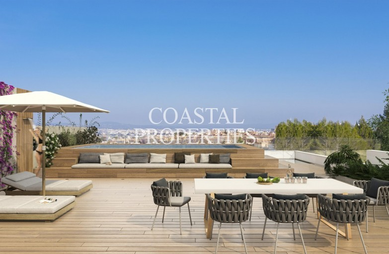 Property for Sale in Near Son Vida, New modern two, three or four bedrooms apartments Son Quint, Mallorca, Spain