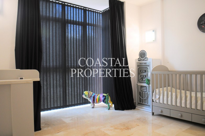 Property for Sale in Santa Ponsa Nova, garden apartment for sale in the exclusive community of  Ses Penyes Rotges Santa Ponsa, Mallorca, Spain