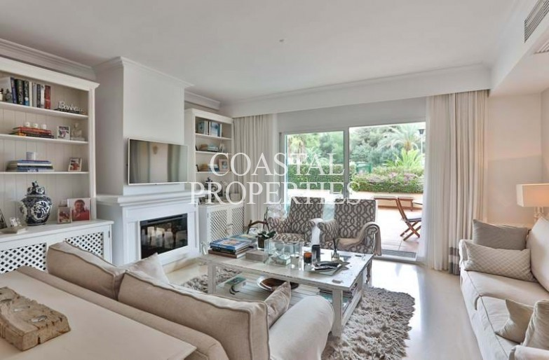 Property for Sale in Garden apartment for sale in the exclusive Ses Oliveres Bendinat, Mallorca, Spain