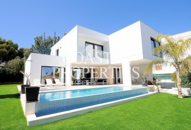 Property for Sale in Fabulous modern sea view 4 bedroom luxury villa for sale Palmanova, Mallorca, Spain