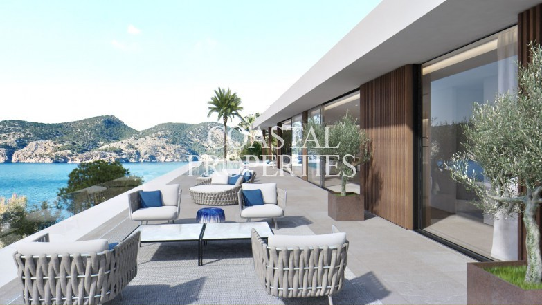 Property for Sale in Project with sea views for sale in exclusive location Camp De Mar, Mallorca, Spain