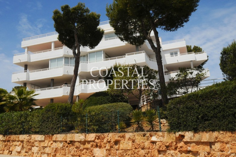 Property for Sale in Exclusive 2 bedroom, 2 bathroom sea view apartment for sale Cala Vinyes, Mallorca, Spain