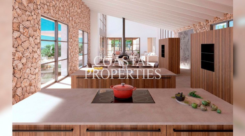 Property for Sale in Plot with building project for sale in Central Mallorca Montuiri, Mallorca, Spain