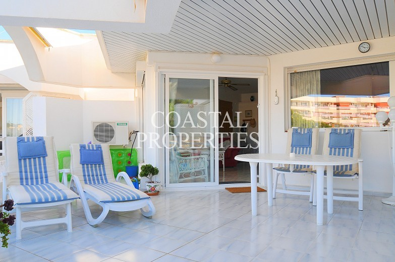 Property for Sale in 2 bedroom penthouse apartment with sea views Cala Vinyes, Mallorca, Spain