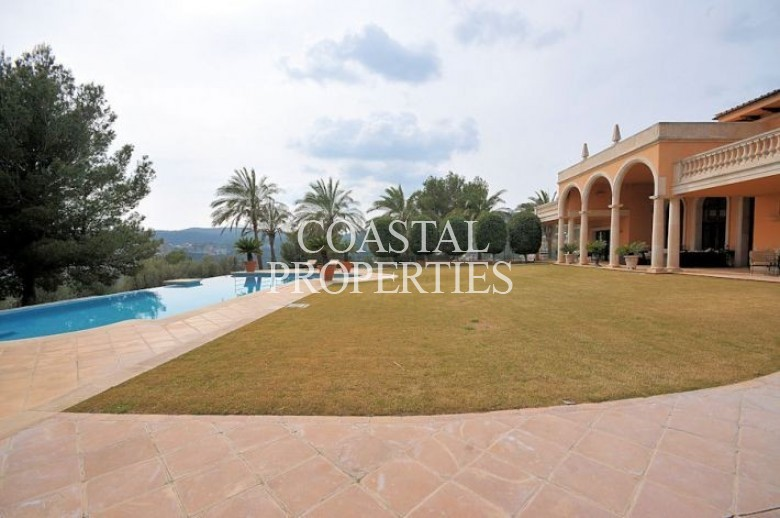 Property for Sale in Son Vida, Luxury Mansion With Sea Views And Indoor Heated Swimming Pool  Son Vida, Mallorca, Spain