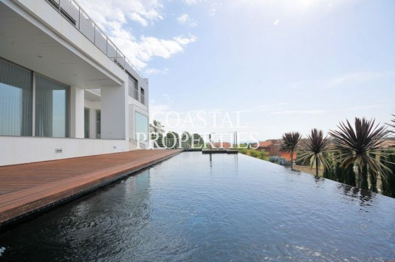 Property for Sale in Bendinat, Sea View Contemporary Villa For Sale On Anchorage Hill  Bendinat, Mallorca, Spain