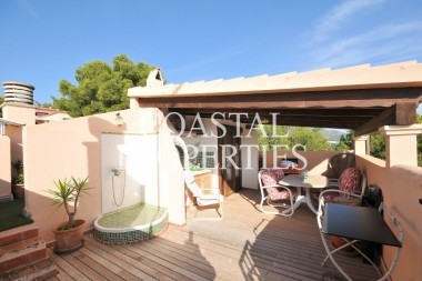 Property for Sale in Santa Ponsa, Penthouse Apartment With Outdoor Kitchen For Sale In Santa Ponsa, Mallorca, Spain