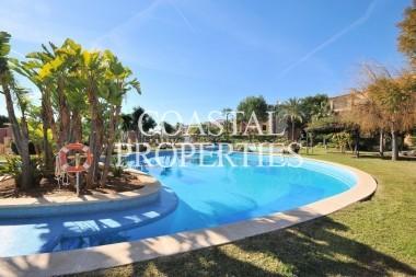 Property for Sale in Santa Ponsa, Garden Apartment For Sale In Upmarket  Community  in  Santa Ponsa, Mallorca, Spain