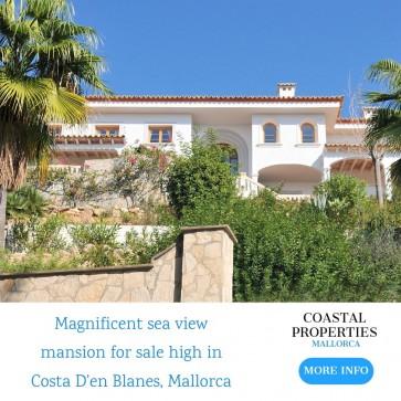 Villa sale Costa D'en Blanes, Mallorca