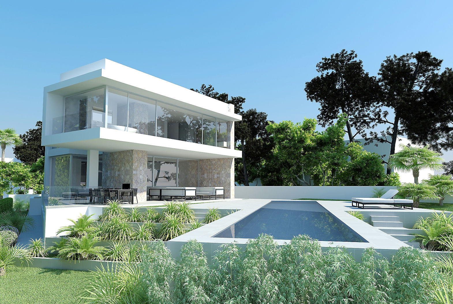 Stunning first line villa for sale next to Port Adriano El Toro