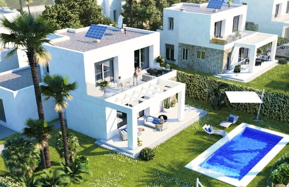 New villas for sale near the sea in Sa Rapita