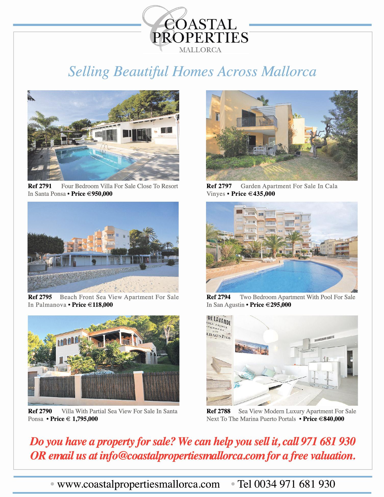 News paper adds Coastal Properties