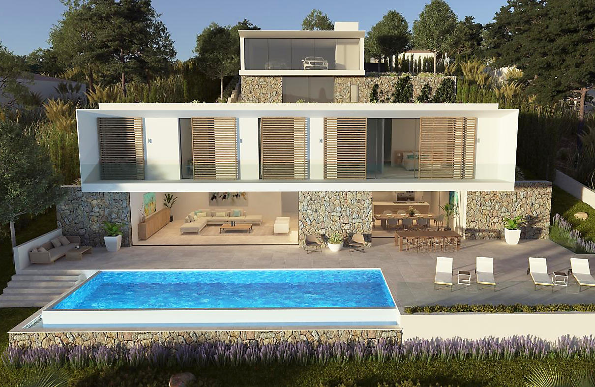 New Modern Villa For Sale In Costa De La Calma
